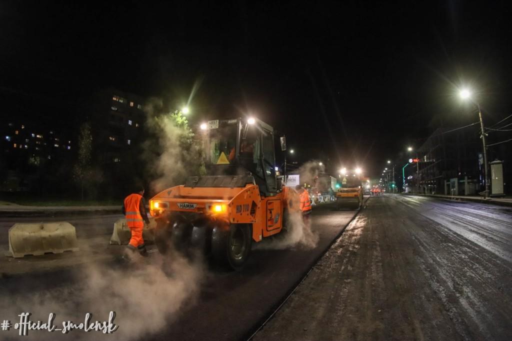 ремонт дорог нормандия